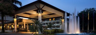 THE SAUJANA HOTELの外観