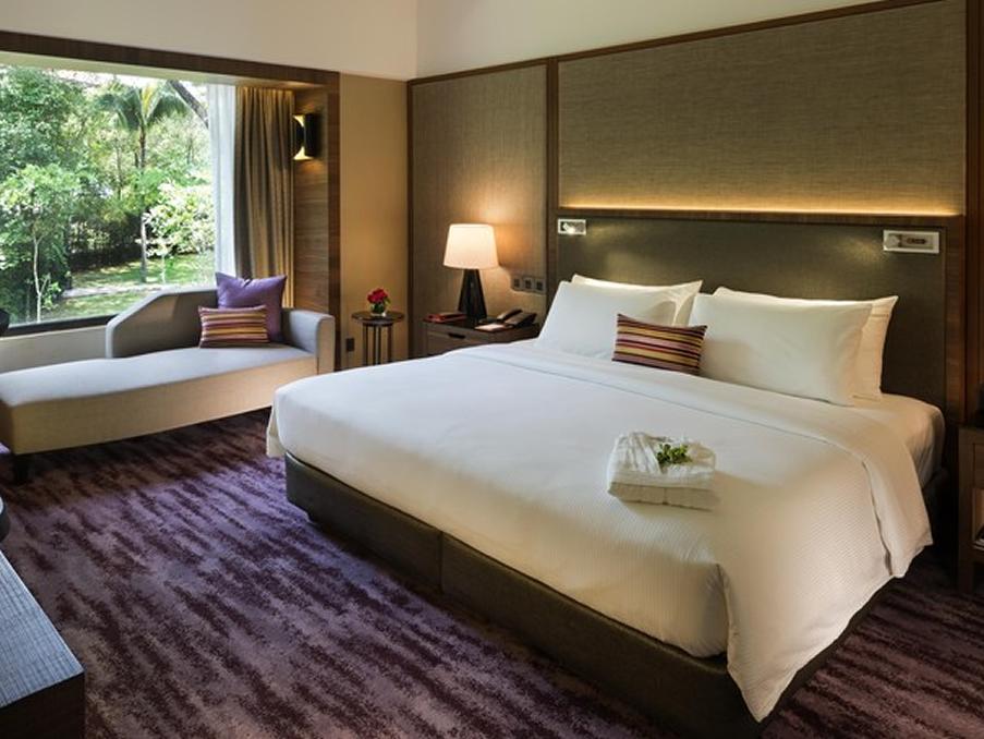 サウジャナホテルの室内