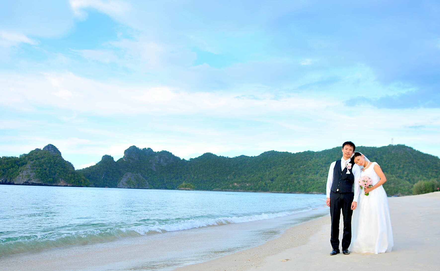 マレーシア ランカウイ島ビーチウエディング