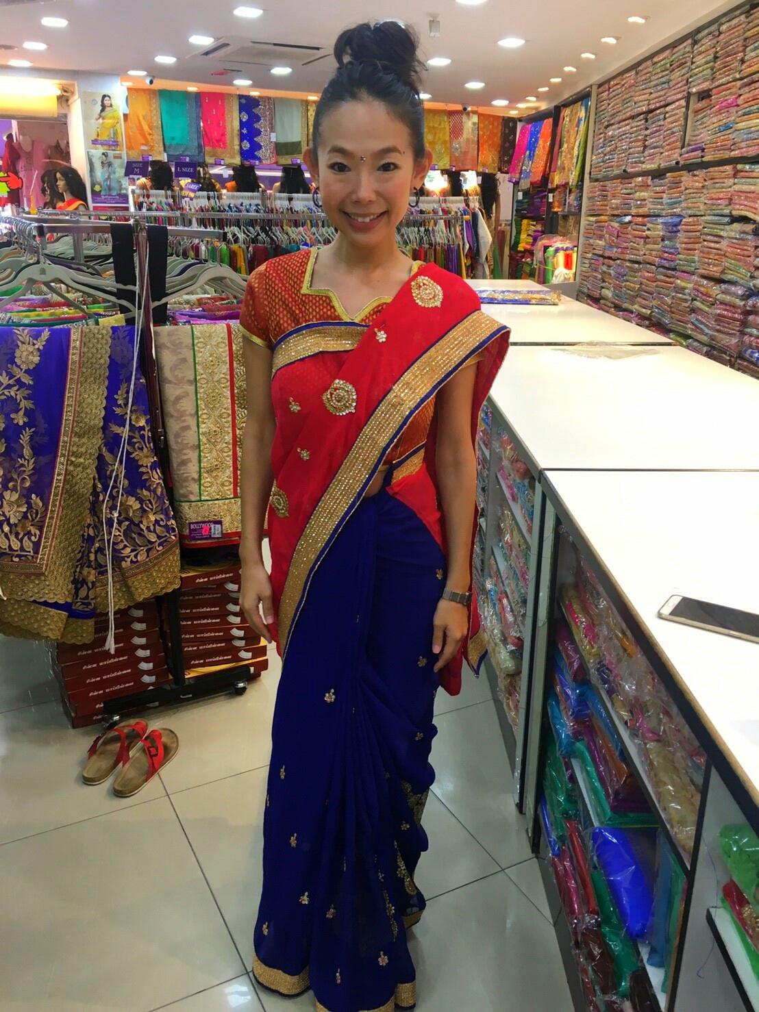 マレーシア民族衣装 サリー