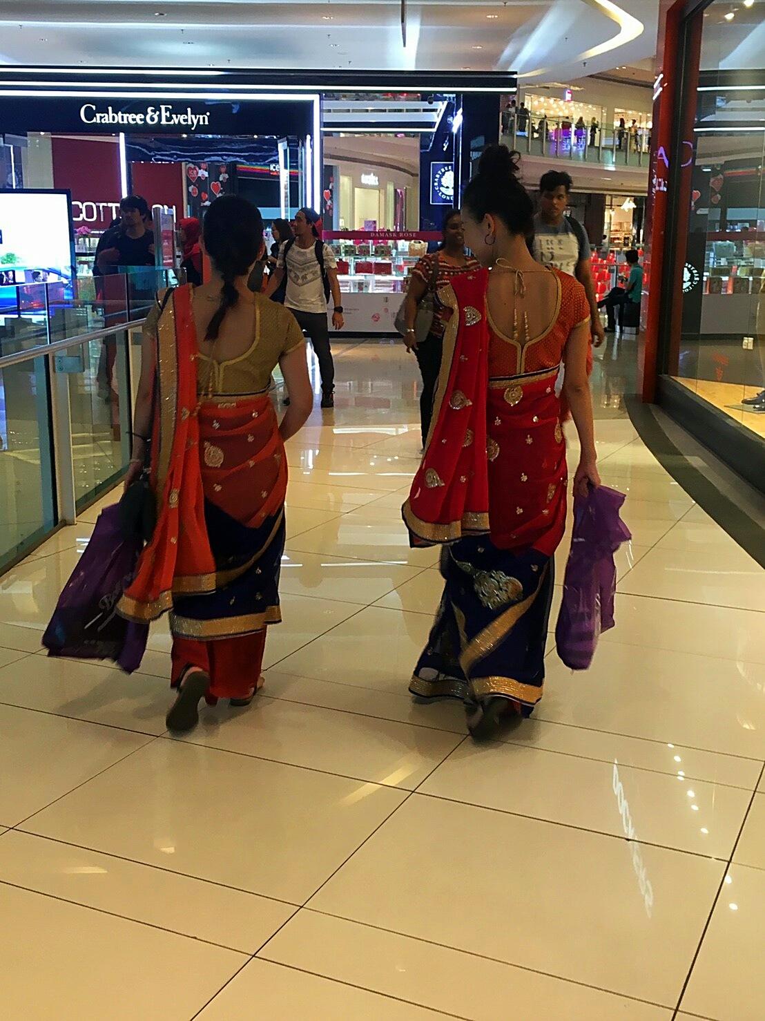 マレーシア民族衣装 インドサリー