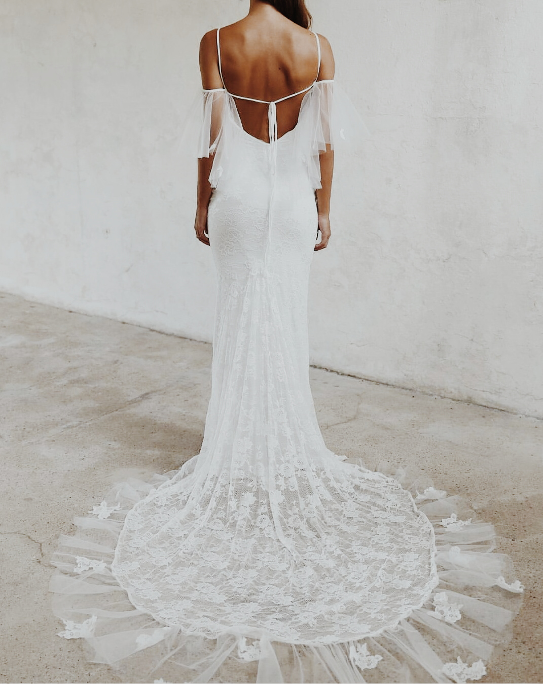 back less gown open back gown low back gown wedding gown