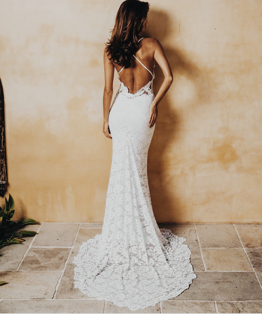 open back gown wedding gown