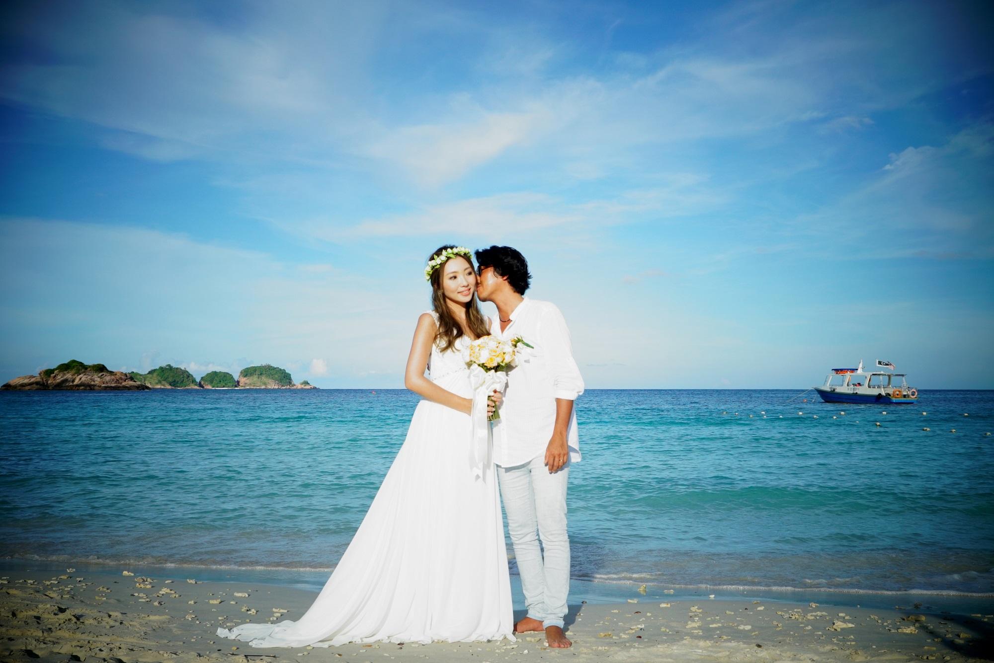 malaysia beach wedding redang island wedding