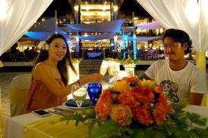 マレーシア レダン島 ビーチウェディング ディナー