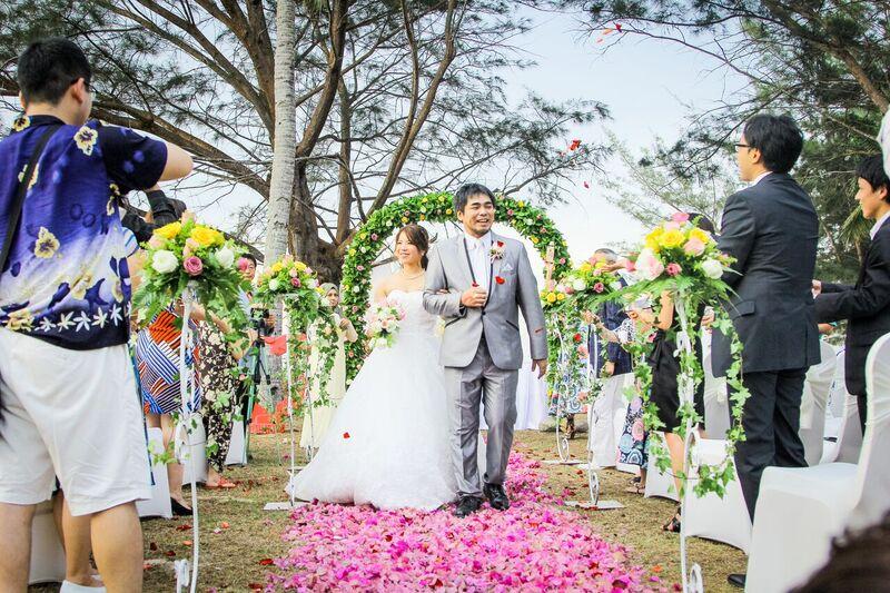 malaysia kota kinabalu wedding