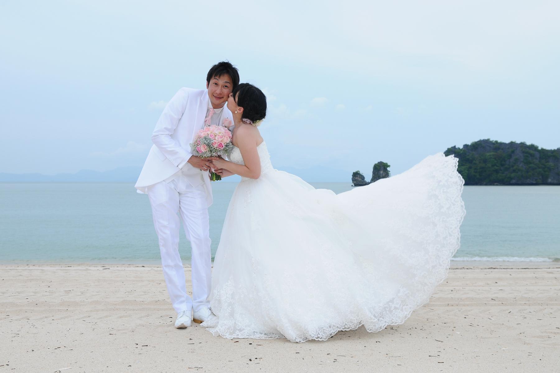 malaysia langkawi island beach wedding