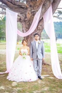 malaysia kotakinabaru gaeden wedding pre wedding photo shooting