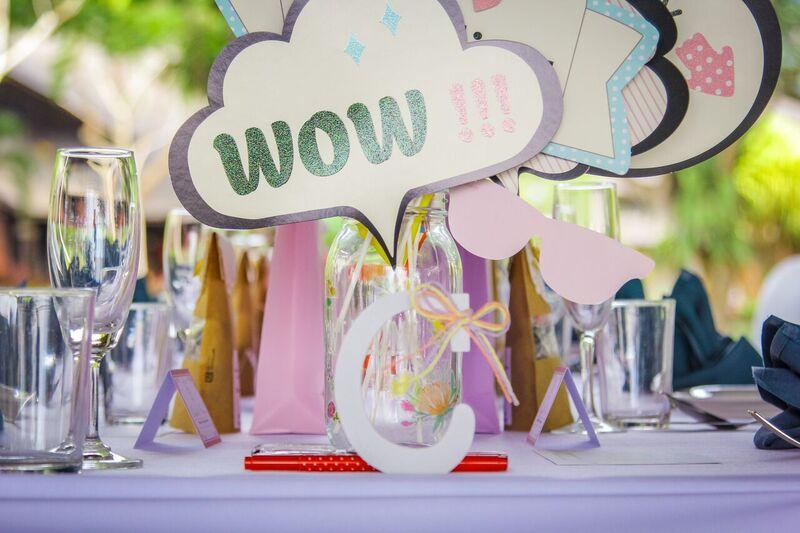malaysia wedding dinner table decorations