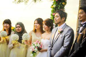 malaysia garden wedding