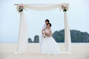 malaysia beach wedding langkawi island