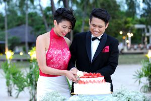 malaysia wedding langkawi beach wedding wedding cake