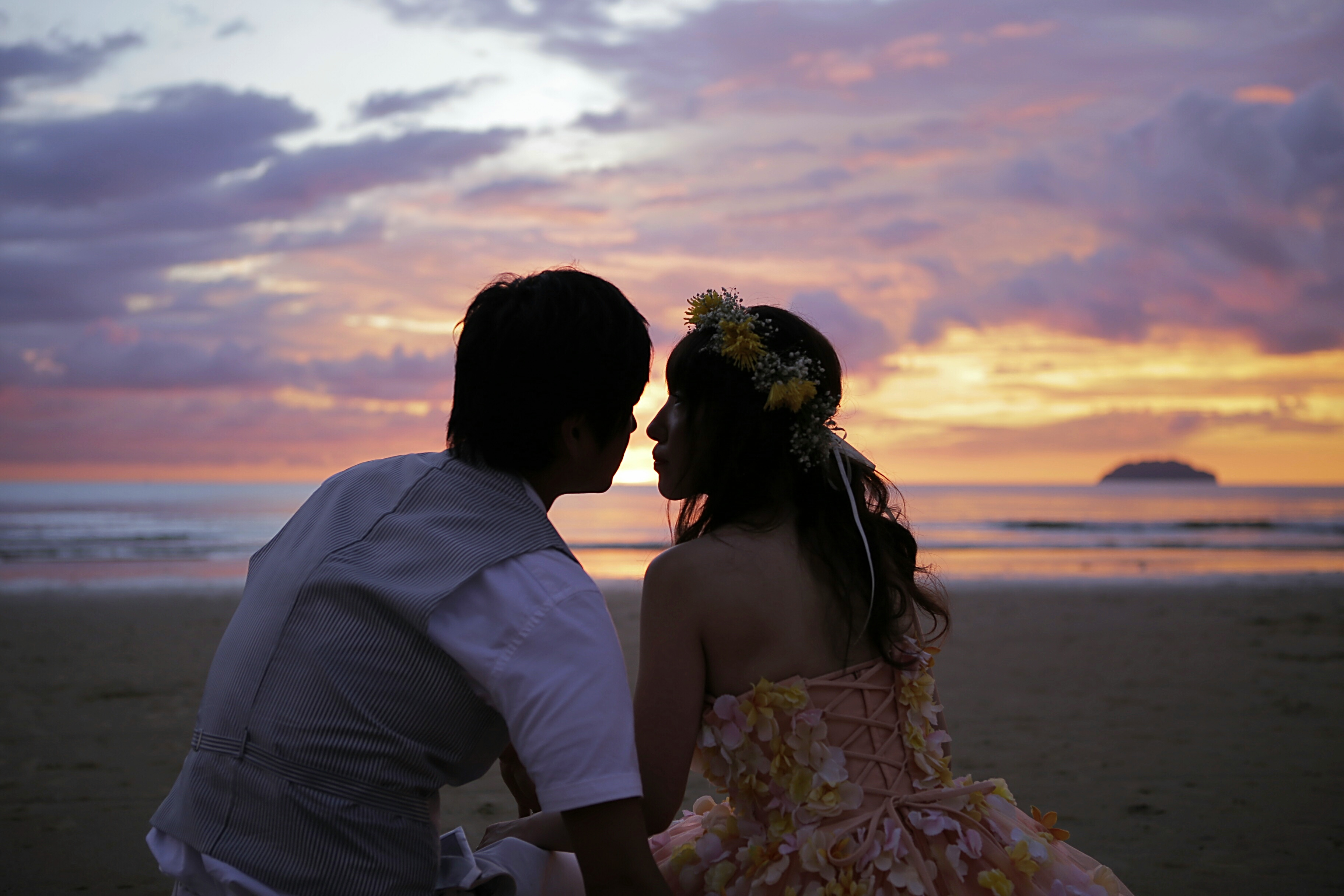 malaysia prewedding photoshooting photoweding kotakinabalu sunset