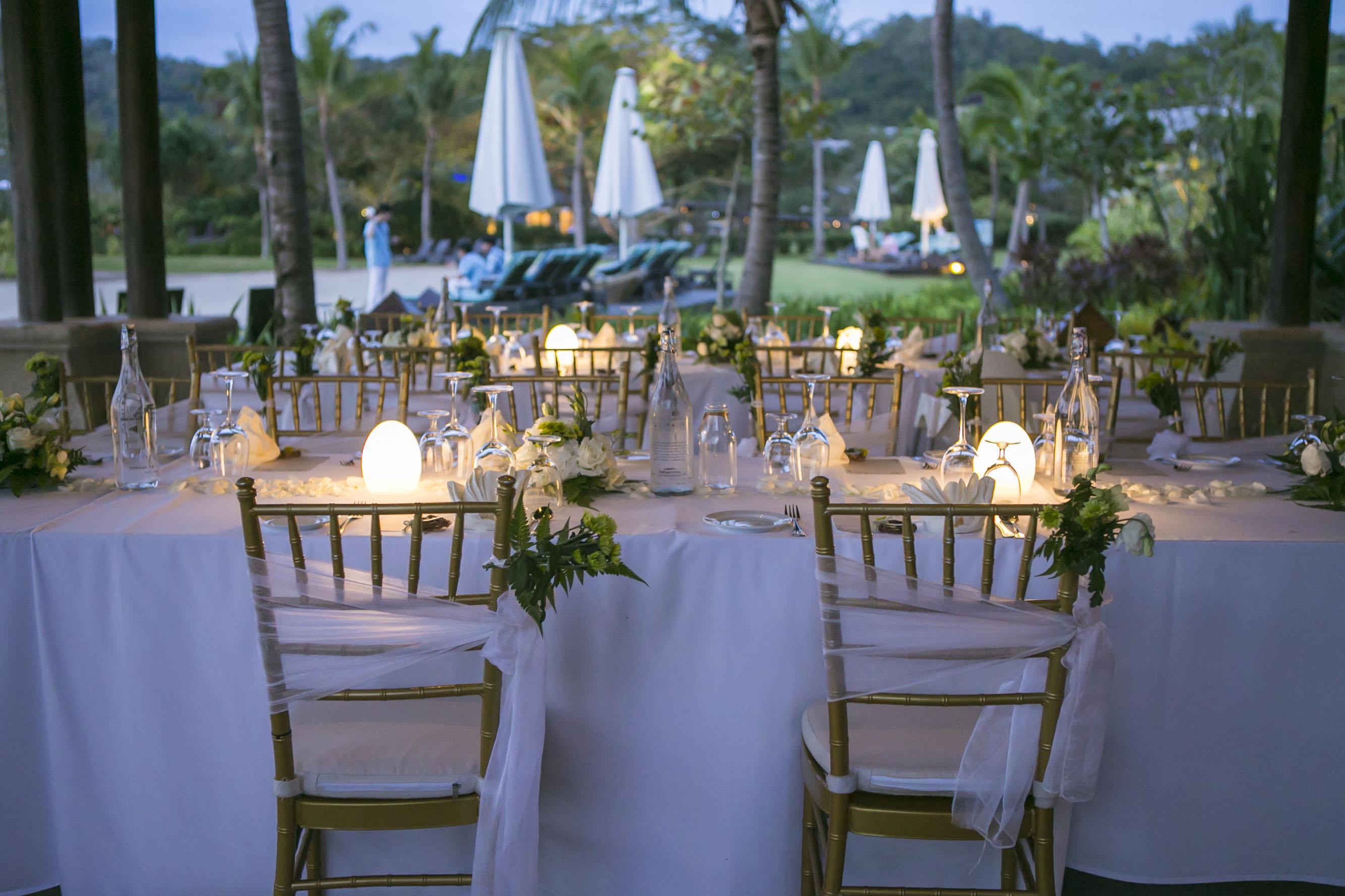 malaysia wedding shangri-La's Rasa Ria Resort Garden wedding borneo kotakinabalu resort wedding