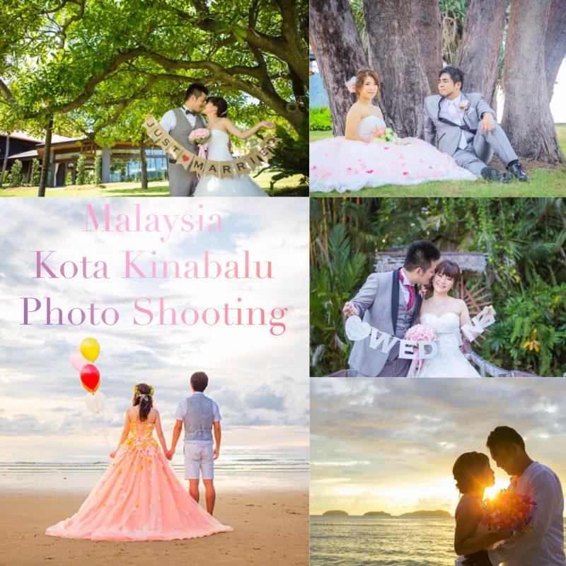 malaysia asia kota kinabalu resort prewedding photoshooting