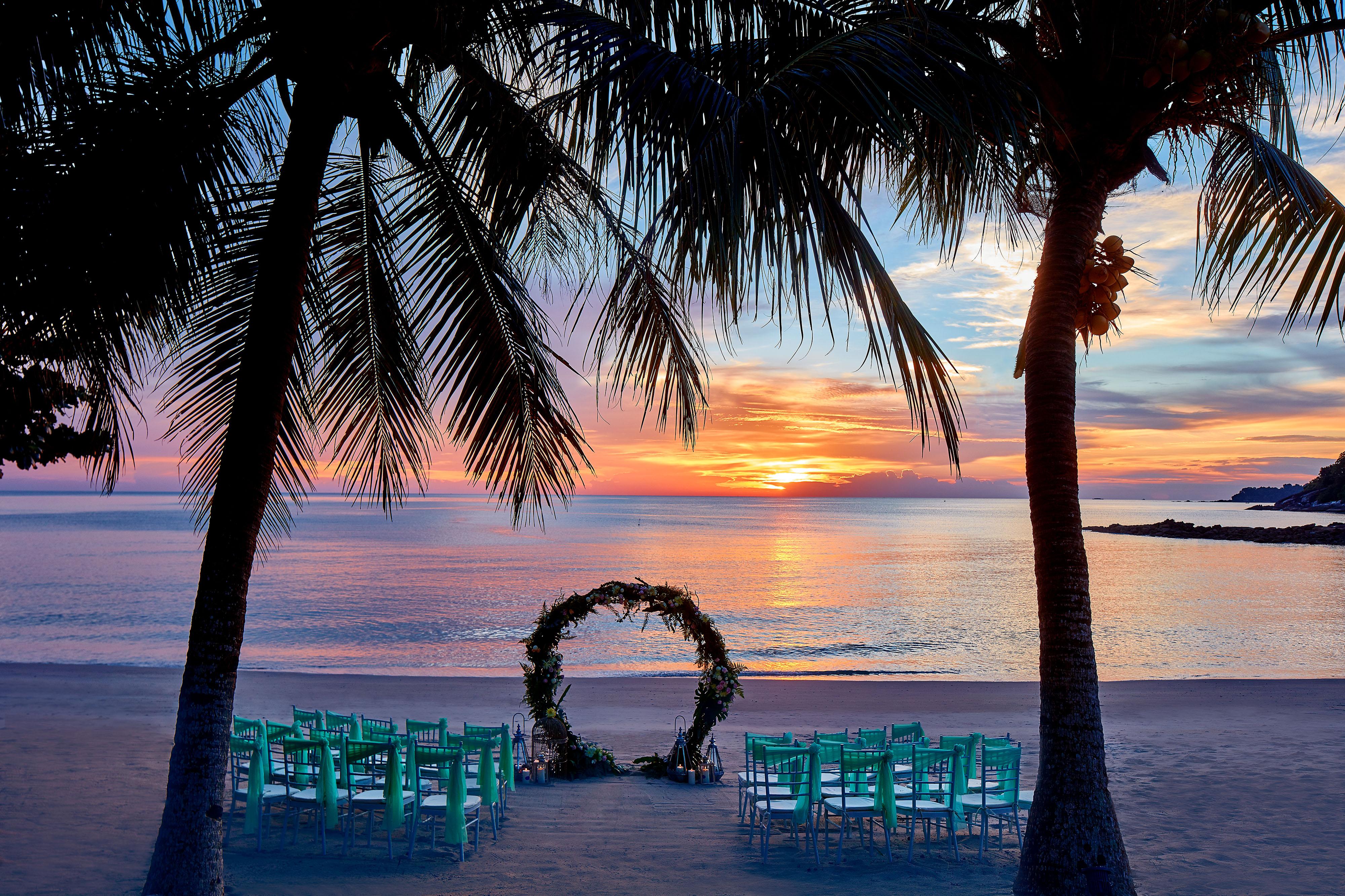 malaysia langkawi beach beachwedding ritzcarlton langkawi wedding