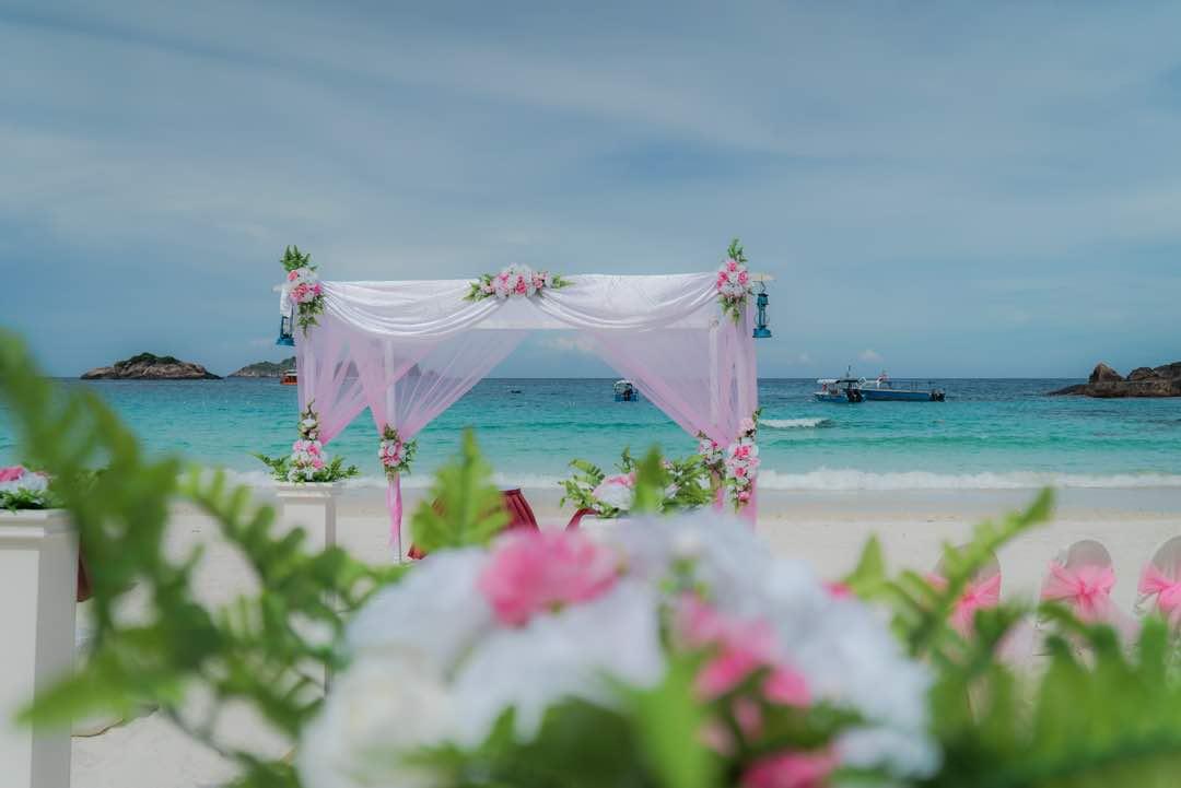 malaysia malaysia wedding redang island wedding