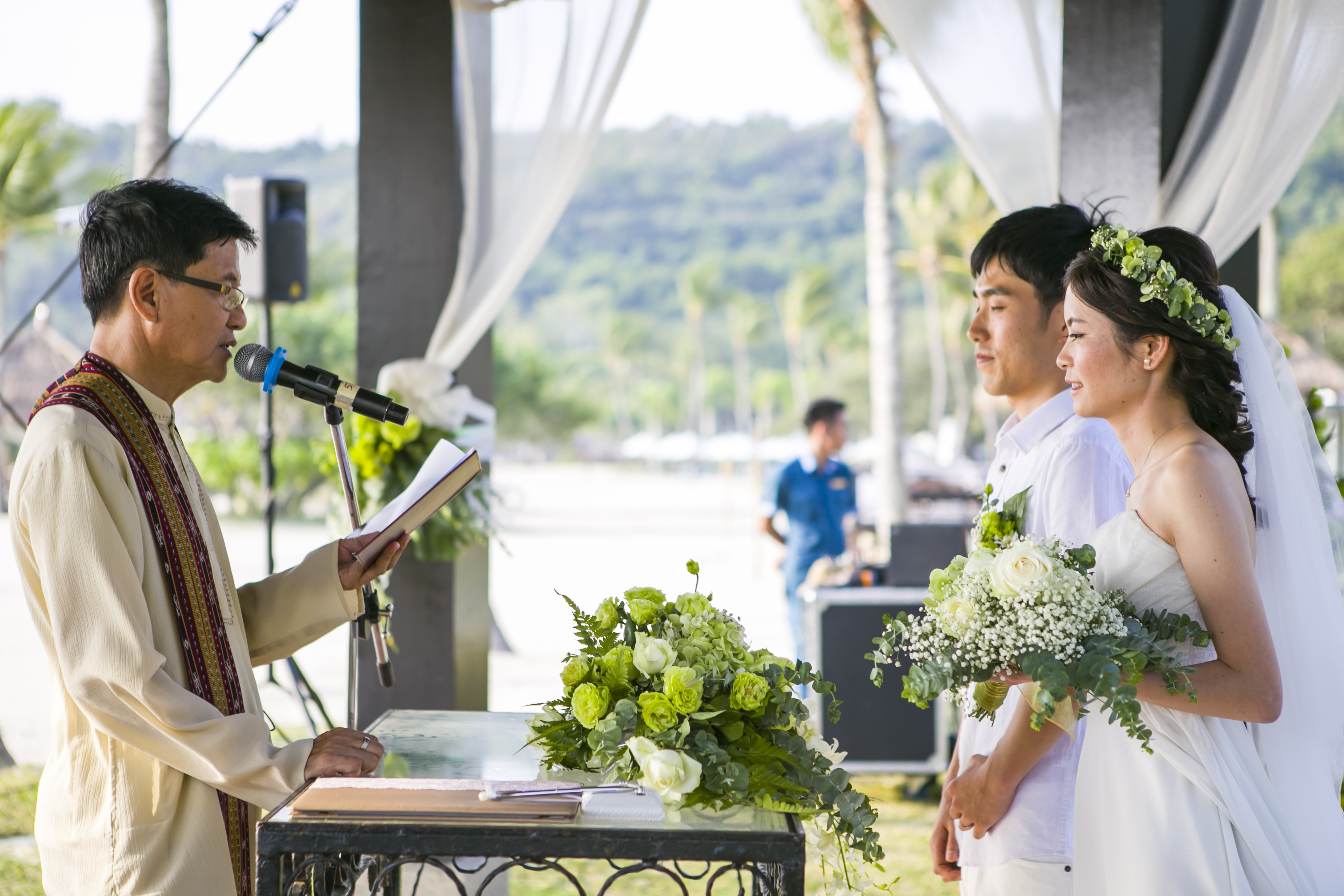 malaysiawedding, kotakinabalu,sabah, wedding, weddings, overseaswedding, syangri-La's rasaria resort, pavilionwedding, japanesewedding