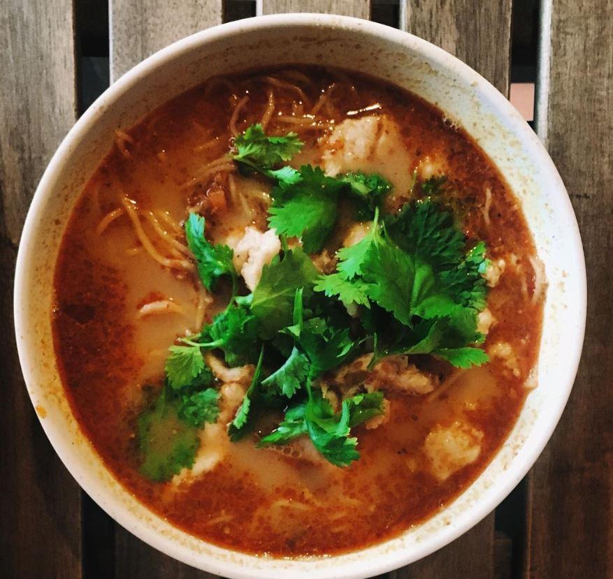 malaysia, tourist, travel, kotakinabalu, sabah, noodle, lunch